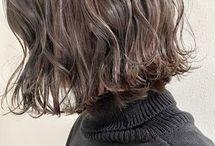 ハイライトヘアスタイル