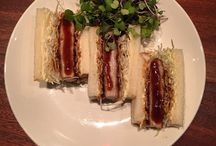 Japanese Food from Restaurants / Food from Japanese Restaruants.