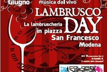 Lambrusco Day: lambruscheria in piazza San Francesco 18 giugno Modena