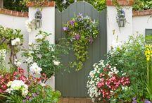 flower gate entrance