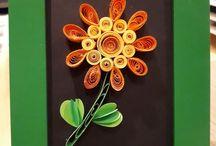 papir blomstr