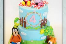 Mickey Mouse & co. Cakes