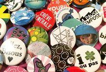 Work in progress / création et fabrication des badges