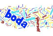 MIS POSTS / Nubes de palabras de mis posts www.vamonosdebodorrio.com