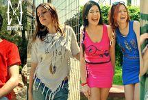 MAYA K / Handpainted clothes by MAYA K