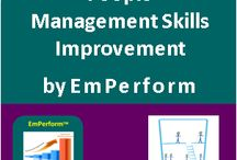Employee Productivity - People Management Skills Improvement / EmPerform People Management Skills Improvement Pack assesses and develops skills required for Getting Things Done Through People Useful for Enhancing People Management Skills of Team Leaders, Supervisors and Managers #HR #EmPerform #EmployeeProductivity