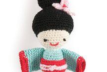Crochet - amigurumi / gelukspoppetjes
