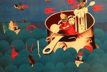 Children's Book Illustrations / by Mattie Weiss