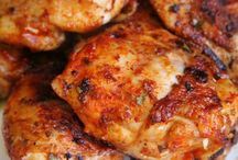 Portuguese grilled chicken sauces