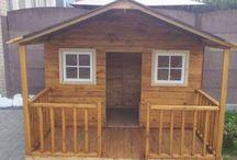 como hacer casa de madera