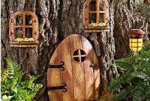 Garden ideas / Planning a fairytale + permaculture garden.