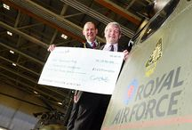 Fundraising Hall of Fame / Fundraising activities by RAF Benevolent Fund supporters, cheque presentations and more.