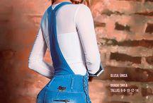 """Jeans Para Dama / No hay nada mejor que estar informal, pero con presencia y elegancia, por eso con la nueva colección de jeans y faldas con un toque de estilo y finura para que nunca te cojan desprevenida """"recuerda que la presencia ante todo"""""""