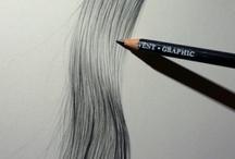 Saç ve değişik saç modelleri  ve saç kesimi.