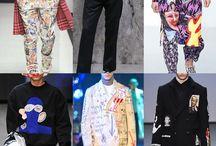 Menswear / Print trends