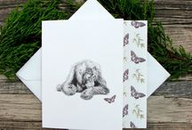 Birthday Cards / A selection of Birthday cards for animal lovers!