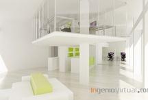 Infografías de Oficinas y Espacios de trabajo / Infografías para proyectos de oficinas y espacios de trabajo realizadas por el estudio.
