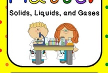 Solids Liquids Gases / by Jessica Marie