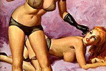 Vintage illustrations / affiches
