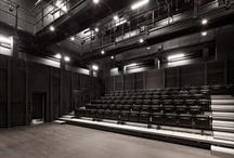 concert hall interior black