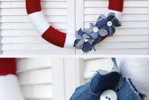 Wreaths I want to make! / by Clara Dostal