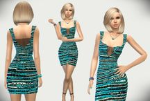 Robe - Sims 4