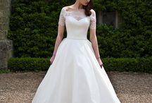 Traditional Wedding Dresses / Traditional white wedding dress ideas.