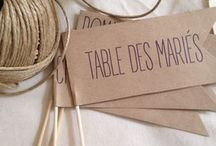 Noms Tables Mariage