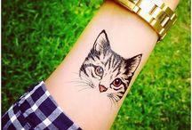 Tatuaje cu pisici