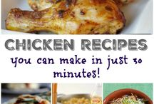 Chicken Recipes / Recipes made with any kind of chicken especially recipes that are kid friendly and budget friendly.