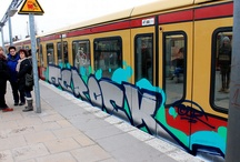 Graffiti on Trains / Graffiti and Street Art are two different things from the ground up. We putted up this folder because of the things, that both cultures have in common.