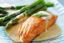 Saumon / 1001 façons de cuisiner le saumon avec ces recettes de saumon plus alléchantes les unes que les autres.