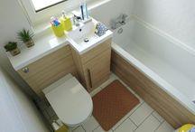 Small Bathroom  / Laundry