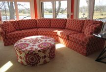 Custom Sectionals / Custom Fittings, templates, drawings, and furniture