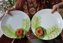Groenten dresseren