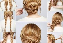 hairstyles for engagement shoot