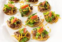 Ideas for appetizers...Lets get this party started! ♥ / by Raina Morales