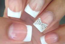 French nails / Love these photos