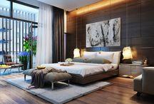 ——酒店卧房
