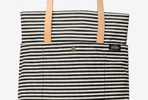 Stripes tote
