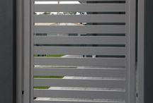 puerta horizontal