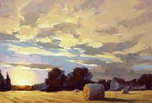 David mensing / I admire the clean colours  and bold strokes