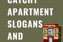 Apartment Slogans and taglines