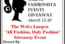 Spring Fashionista '15 Giveaway Event (March 12-20) / Fashionista Events presents the Spring Fashionista Event 2015, March 12-20. THE largest Fashion Giveaway Event on the Internet. Be sure to stop in and enter all 100+ blogs and for $26,000+ in prizes. Grand Prize Sponsor $500 PayPal, 1st Place Sponsor $300 @MonroeandMain  / by Still Blonde after all these YEARS