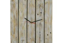 Clocks / Nice handmade wooden clocks from reclaimed wood.