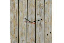Clocks / Nice handmade wooden clocks from reclaimed wood.