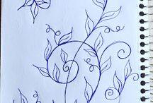 Art: Zentangle: Vines