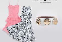 Letnie sukienki / I piękna biżuteria :)