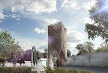Monumento Izkor by ARCHETONIC / Monumento conmemorativo a las víctimas del Holocausto.