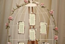 Wedding Theme Birds / For a magical bird filled day let your imagination fly away with you. Use bird cages and feathers for decoration with soft duck egg blues, minimal dove white or go bold with Kingfisher like colours and jewels.  Why not even release some doves to delight all of your guests.